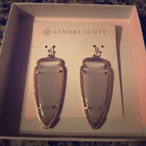 Kendra Scott Skylar Earrings Slate Gray